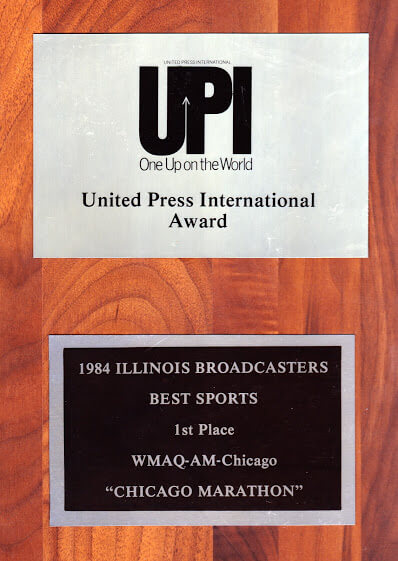 <h4>UPI UNITED PRESS INTERNATIONAL AWARD ,1984</h4>